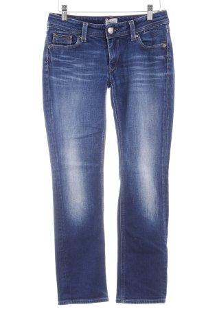 Tommy Hilfiger Denim Straight-Leg Jeans stahlblau Casual-Look