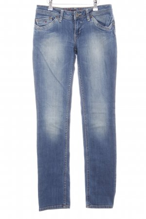 Tommy Hilfiger Denim Stretch Jeans blau Casual-Look