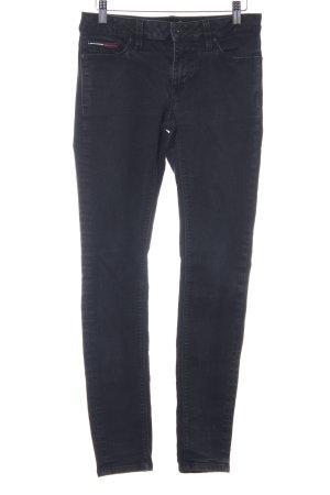 Tommy Hilfiger Denim Pantalone elasticizzato nero stile casual
