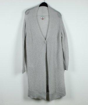 Tommy Hilfiger Denim Veste en tricot gris foncé-gris clair tissu mixte