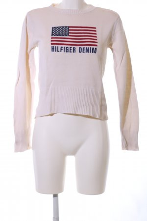 Tommy Hilfiger Paniana Cable SWTR Pull Femme: