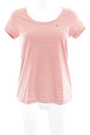 Tommy Hilfiger Denim T-Shirt lachs meliert Casual-Look