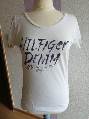 Tommy Hilfiger T-Shirt white-dark blue
