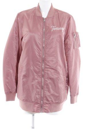 Tommy Hilfiger Denim Übergangsjacke rosa Casual-Look