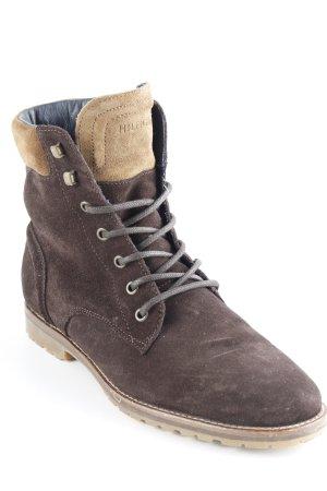 Tommy Hilfiger Desert Boots schwarzbraun-hellbraun Casual-Look