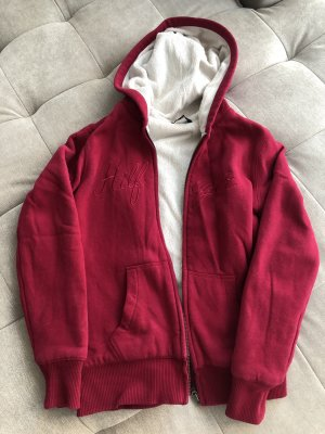 Tommy Hilfiger Smanicato in pile rosso