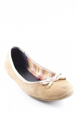 Tommy Hilfiger faltbare Ballerinas beige Casual-Look