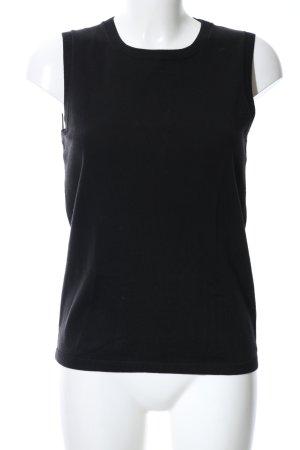 Tommy Hilfiger Cardigan en maille fine noir style décontracté