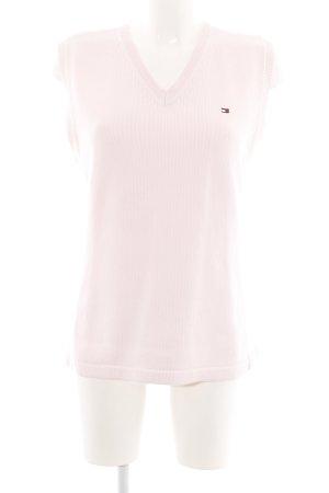 Tommy Hilfiger Feinstrickpullunder pink Business-Look