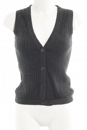 Tommy Hilfiger Fine Knitted Cardigan grey casual look