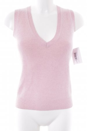 Tommy Hilfiger Feinstrickpullunder rosa Casual-Look