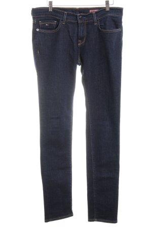 Tommy Hilfiger Pantalon cinq poches bleu foncé style décontracté