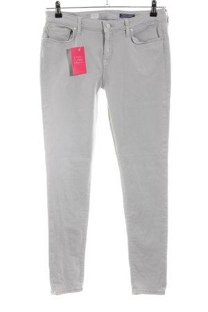 Tommy Hilfiger Pantalon cinq poches gris clair style décontracté
