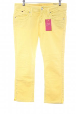Tommy Hilfiger Five-Pocket Trousers yellow casual look