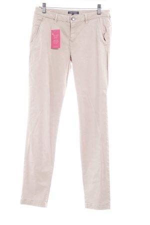 Tommy Hilfiger Pantalone cinque tasche beige chiaro stile professionale