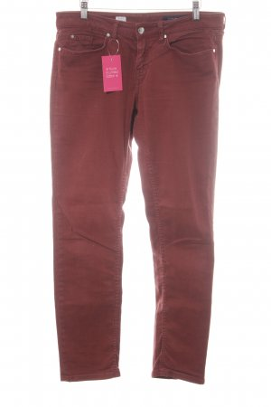 Tommy Hilfiger Five-Pocket Trousers russet simple style