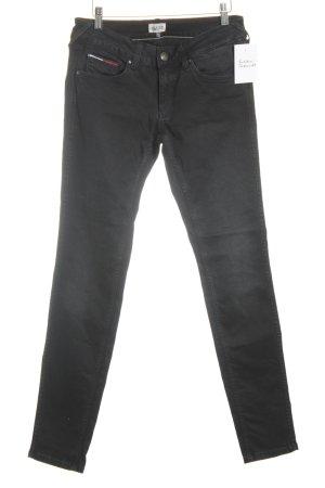 Tommy Hilfiger Five-Pocket-Hose schwarz Casual-Look