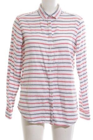 Tommy Hilfiger Camisa de franela estampado a rayas estilo sencillo