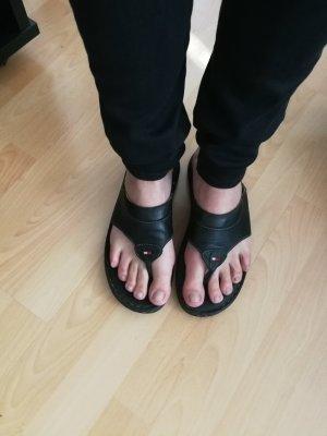Tommy Hilfiger Flip Flops Größe 41 Leder