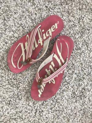 Tommy Hilfiger Flip flop sandalen roze