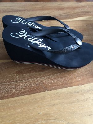 Tommy Hilfiger Chanclas azul oscuro