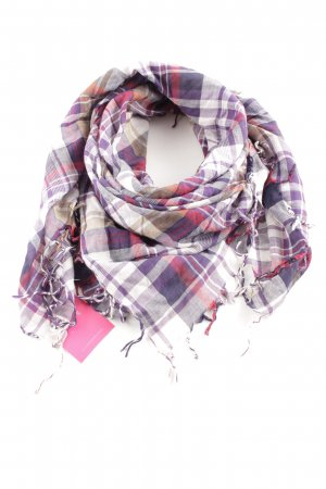 Tommy Hilfiger Fringed Scarf check pattern casual look