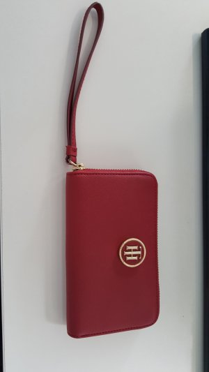 Tommy Hilfiger Cartera rojo oscuro