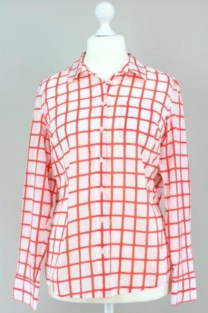 Tommy Hilfiger Gemusterte Bluse rot Größe L 1711070100497