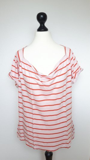 Tommy Hilfiger T-shirt rayé orange-rosé