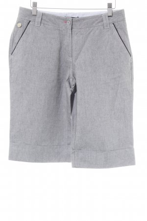 Tommy Hilfiger Golf Pantalón pirata gris moteado look casual