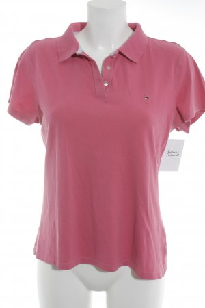 Tommy Hilfiger Golf Polo rose style athlétique