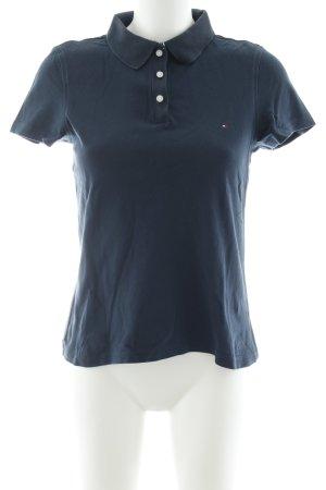 Tommy Hilfiger Golf Polo-Shirt Schriftzug gestickt Casual-Look