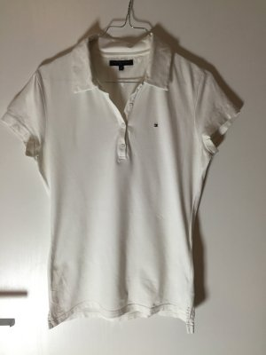 Tommy Hilfiger Golf Camiseta tipo polo blanco