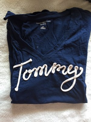 Tommy Hilfiger T-Shirt natural white-dark blue