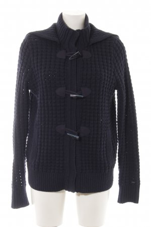 Tommy Hilfiger Coarse Knitted Jacket blue casual look