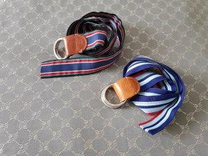Tommy Hilfiger Cintura in tessuto multicolore