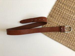 Tommy Hilfiger Cintura di pelle marrone