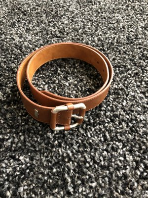 Tommy Hilfiger Leather Belt brown-cognac-coloured