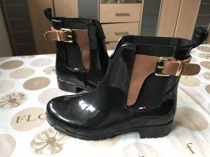 Tommy Hilfiger Wellington laarzen zwart