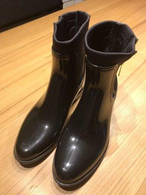 Hilfiger Wellington laarzen zwart