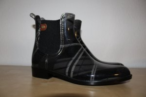 Tommy Hilfiger Wellies silver-colored-black synthetic material