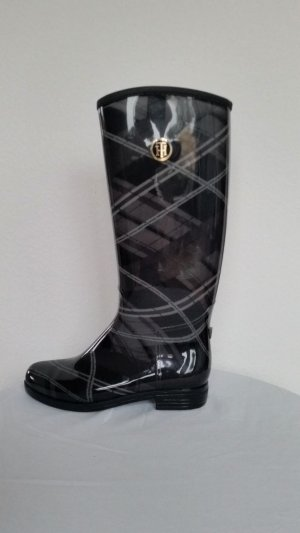 Tommy Hilfiger Wellies black-anthracite