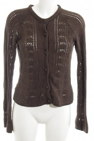 Tommy Hilfiger Crochet Cardigan brown casual look