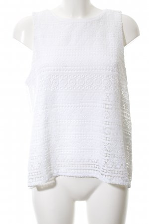 Tommy Hilfiger Crochet Top white casual look