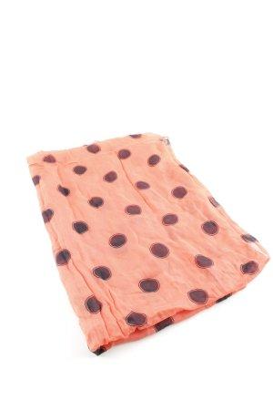 Tommy Hilfiger Foulard orange clair-noir motif de tache style décontracté