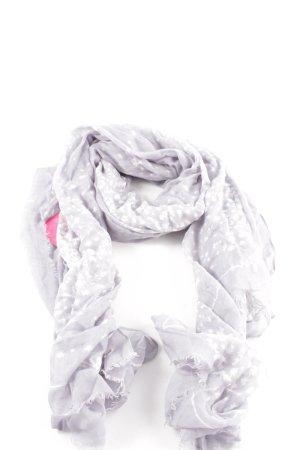Tommy Hilfiger Foulard violet-blanc imprimé allover style décontracté