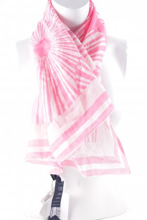 Tommy Hilfiger Foulard blanc-rose style décontracté
