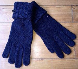 Tommy Hilfiger Guanto con dita blu scuro