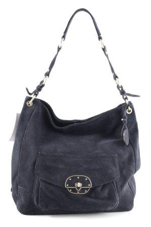 Tommy Hilfiger Handtasche blau-goldfarben Casual-Look