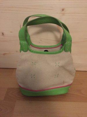 Tommy Hilfiger Handtasche creme grün